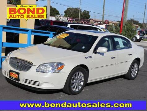 2009 Buick Lucerne for sale at Bond Auto Sales in St Petersburg FL