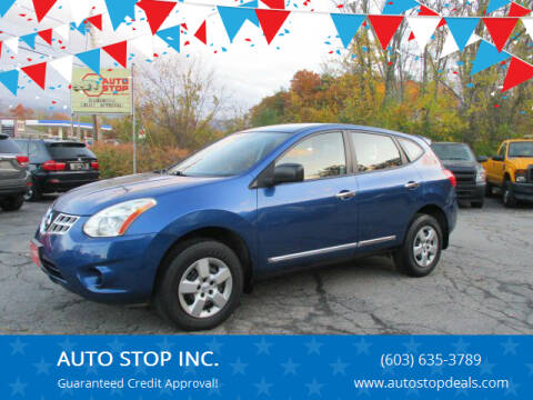 2011 Nissan Rogue for sale at AUTO STOP INC. in Pelham NH