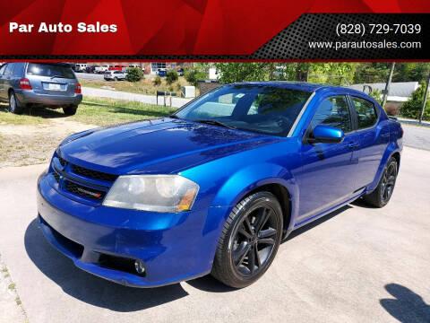 2013 Dodge Avenger for sale at Par Auto Sales in Lenoir NC