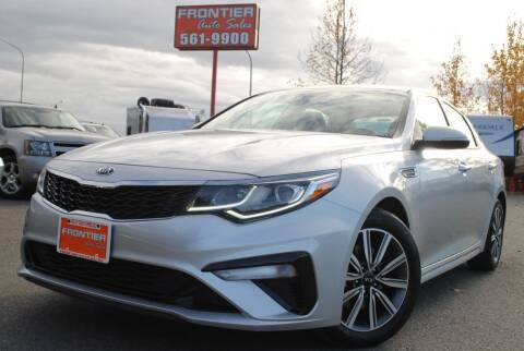 2019 Kia Optima for sale at Frontier Auto & RV Sales in Anchorage AK