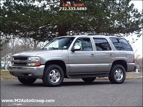 2003 Chevrolet Tahoe for sale at M2 Auto Group Llc. EAST BRUNSWICK in East Brunswick NJ