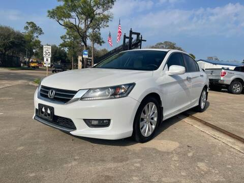2014 Honda Accord for sale at Newsed Auto in Houston TX