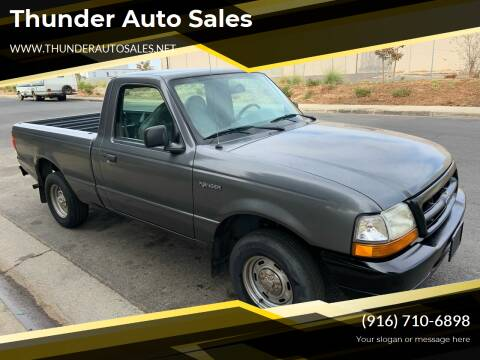 1999 Ford Ranger for sale at Thunder Auto Sales in Sacramento CA