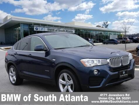 2016 BMW X4 for sale at Carol Benner @ BMW of South Atlanta in Union City GA
