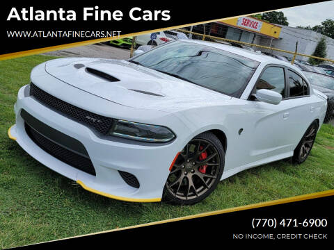 2015 Dodge Charger for sale at Atlanta Fine Cars in Jonesboro GA
