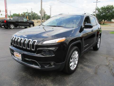 2017 Jeep Cherokee for sale at Windsor Auto Sales in Loves Park IL