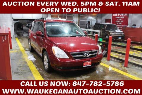 2008 Hyundai Entourage for sale at Waukegan Auto Auction in Waukegan IL