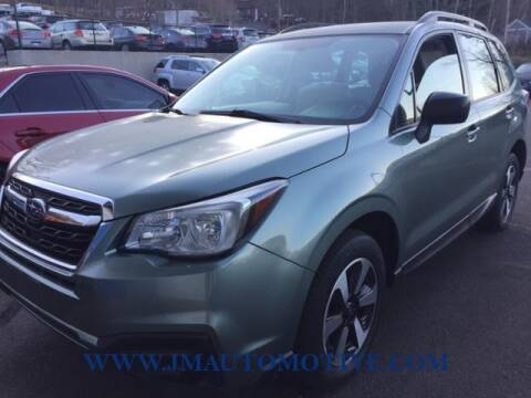 2017 Subaru Forester for sale at J & M Automotive in Naugatuck CT