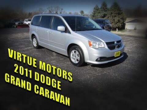 2011 Dodge Grand Caravan for sale at Virtue Motors in Darlington WI