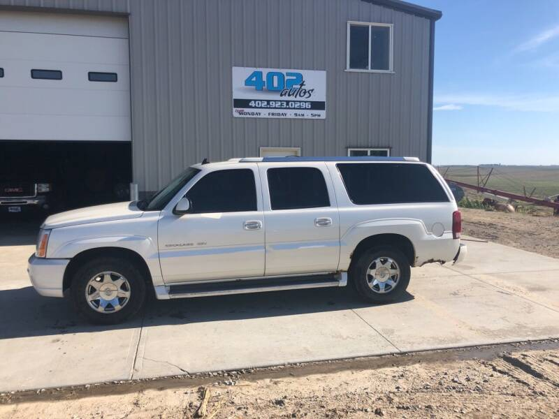 2006 Cadillac Escalade ESV for sale at 402 Autos in Lindsay NE