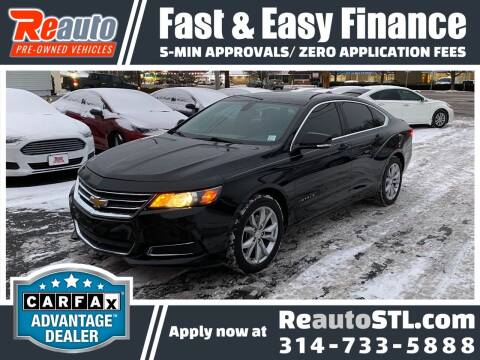 2017 Chevrolet Impala for sale at Reauto in Saint Louis MO