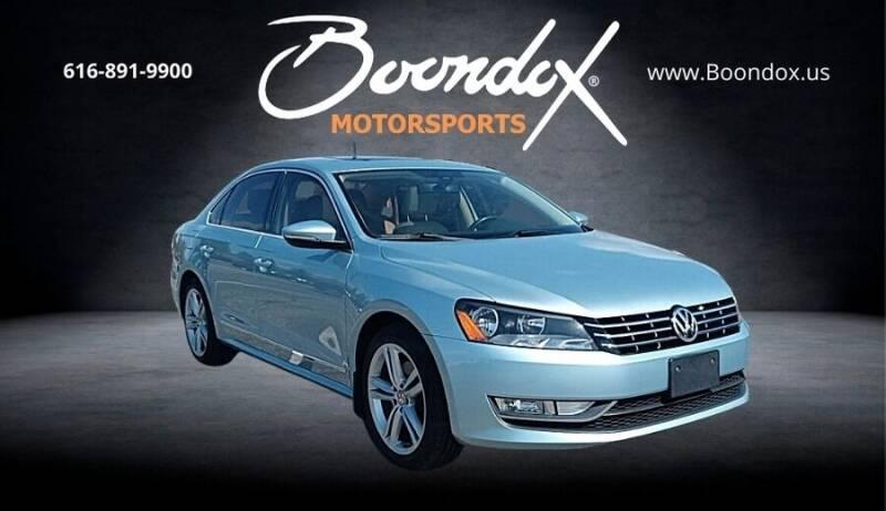 2012 Volkswagen Passat for sale at Boondox Motorsports in Caledonia MI