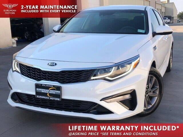 2020 Kia Optima for sale at European Motors Inc in Plano TX