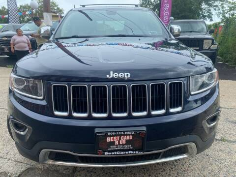 2015 Jeep Grand Cherokee for sale at Best Cars R Us in Plainfield NJ