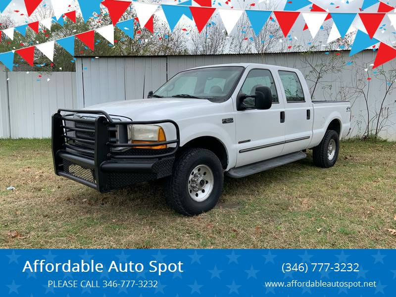 2000 Ford F-250 Super Duty for sale at Affordable Auto Spot in Houston TX