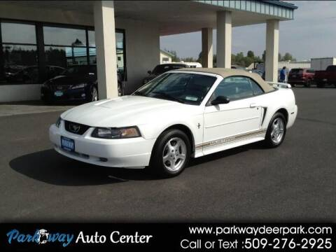 2003 Ford Mustang for sale at PARKWAY AUTO CENTER AND RV in Deer Park WA