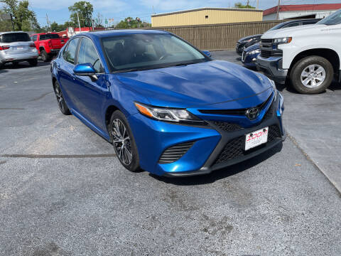 2019 Toyota Camry for sale at Auto Group South - Idom Auto Sales in Monroe LA