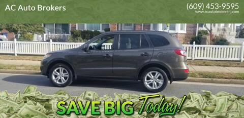 2012 Hyundai Santa Fe for sale at AC Auto Brokers in Atlantic City NJ