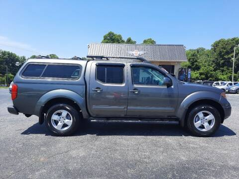 2007 Nissan Frontier for sale at G AND J MOTORS in Elkin NC