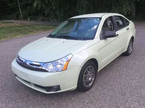 2010 Ford Focus for sale at Lou Rivers Used Cars in Palmer MA