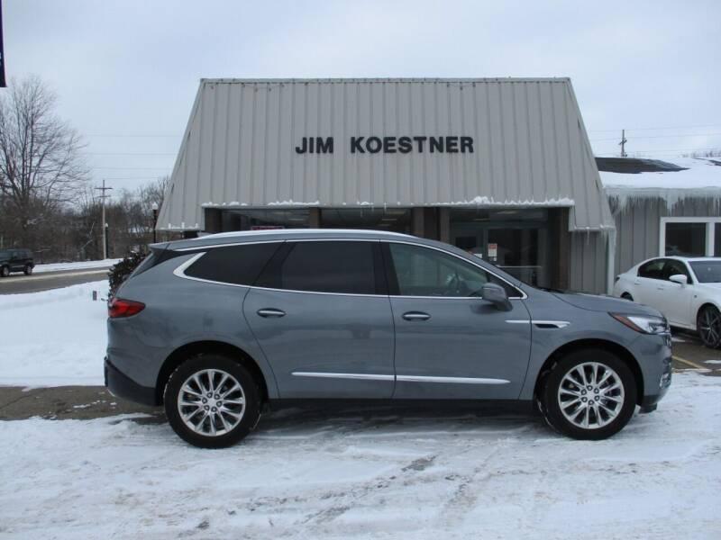 2018 Buick Enclave for sale at JIM KOESTNER INC in Plainwell MI