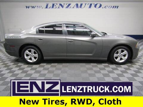 2012 Dodge Charger for sale at LENZ TRUCK CENTER in Fond Du Lac WI