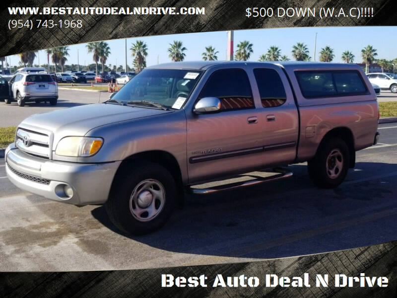 2003 Toyota Tundra for sale at Best Auto Deal N Drive in Hollywood FL