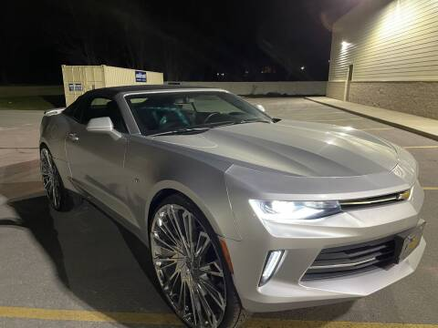 2017 Chevrolet Camaro for sale at Trocci's Auto Sales in West Pittsburg PA
