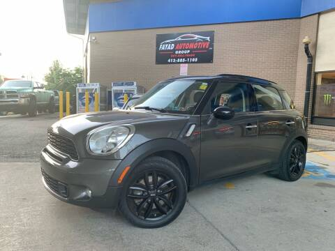 2012 MINI Cooper Countryman for sale at FAYAD AUTOMOTIVE GROUP in Pittsburgh PA