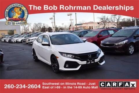 2018 Honda Civic for sale at BOB ROHRMAN FORT WAYNE TOYOTA in Fort Wayne IN
