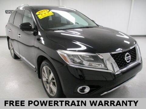 2013 Nissan Pathfinder for sale at Sports & Luxury Auto in Blue Springs MO
