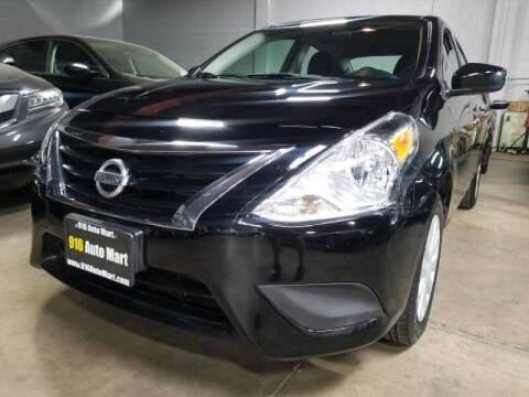 2018 Nissan Versa for sale at 916 Auto Mart ONLY $399 DOWN!!!* in Sacramento CA