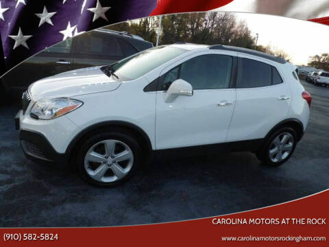 2016 Buick Encore for sale at Carolina Motors at the Rock - Carolina Motors-Thomasville in Thomasville NC