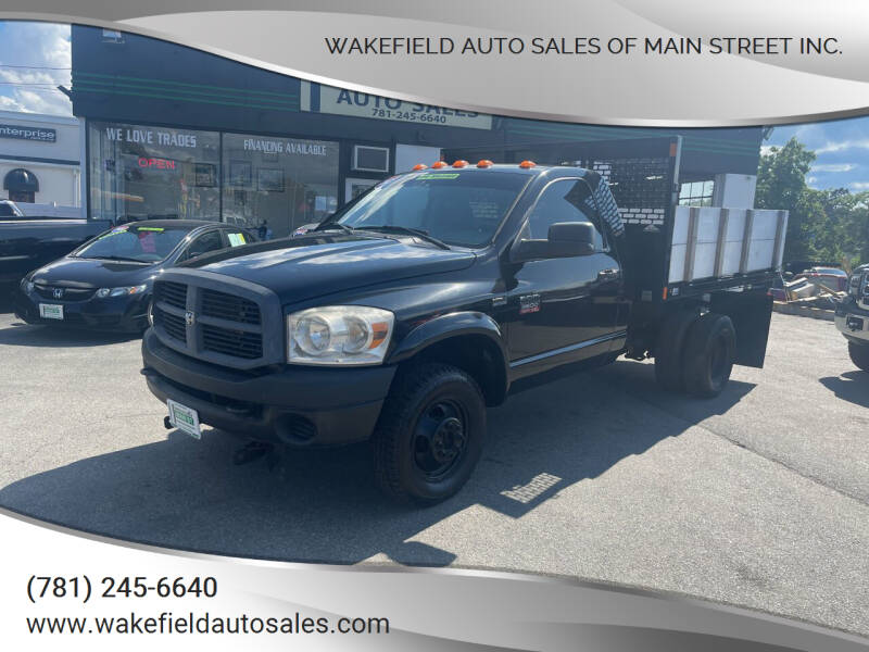 2007 Dodge Ram Chassis 3500 for sale at Wakefield Auto Sales of Main Street Inc. in Wakefield MA