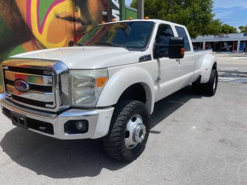 2012 Ford F-450 Super Duty for sale at BIG BOY DIESELS in Fort Lauderdale FL