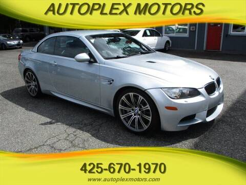 2008 BMW M3 for sale at Autoplex Motors in Lynnwood WA