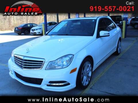2013 Mercedes-Benz C-Class for sale at Inline Auto Sales in Fuquay Varina NC