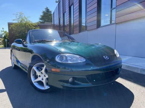 2001 Mazda MX-5 Miata for sale at DAILY DEALS AUTO SALES in Seattle WA