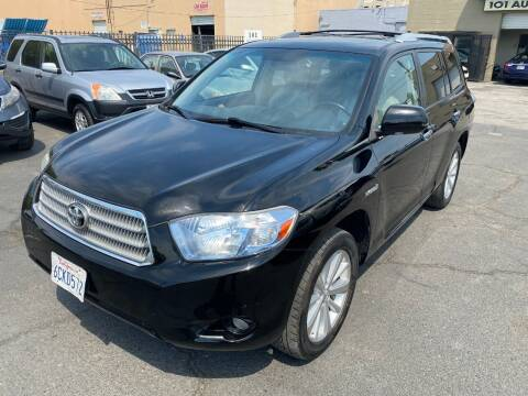 2008 Toyota Highlander Hybrid for sale at 101 Auto Sales in Sacramento CA