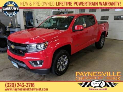 2018 Chevrolet Colorado for sale at Paynesville Chevrolet - Buick in Paynesville MN