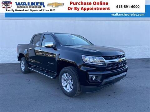 2021 Chevrolet Colorado for sale at WALKER CHEVROLET in Franklin TN