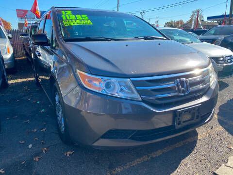 2012 Honda Odyssey for sale at GRAND USED CARS  INC in Little Ferry NJ