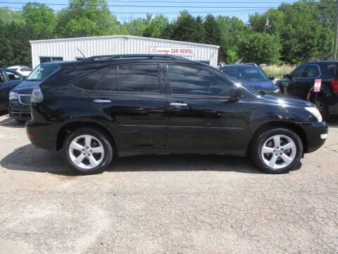 2008 Lexus RX 350 for sale at Hickory Wholesale Cars Inc in Newton NC