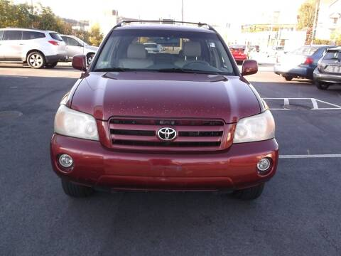 2004 Toyota Highlander for sale at Sharp Auto Center in Worcester MA