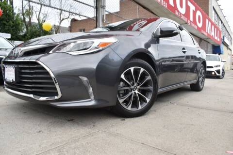 2018 Toyota Avalon for sale at HILLSIDE AUTO MALL INC in Jamaica NY