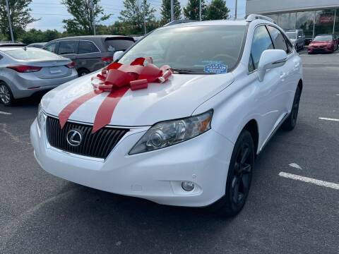 2010 Lexus RX 350 for sale at Charlotte Auto Group, Inc in Monroe NC