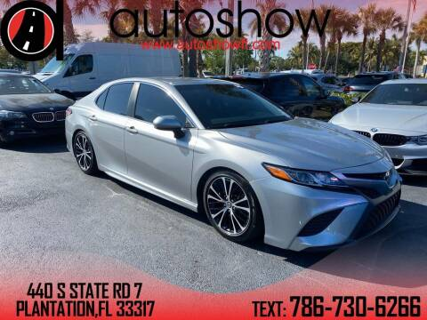 2018 Toyota Camry for sale at AUTOSHOW SALES & SERVICE in Plantation FL