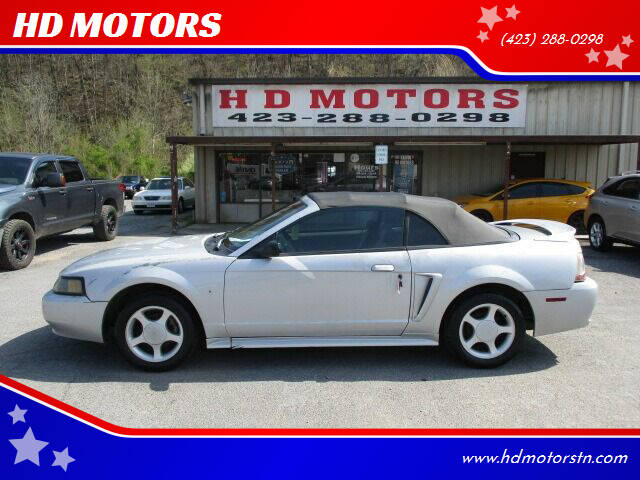 2000 Ford Mustang for sale at HD MOTORS in Kingsport TN
