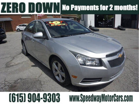 2014 Chevrolet Cruze for sale at Speedway Motors in Murfreesboro TN