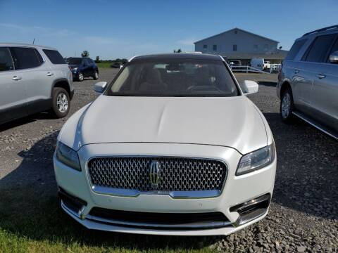 2019 Lincoln Continental for sale at K & G Auto Sales Inc in Delta OH